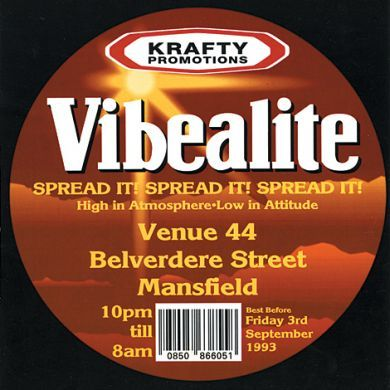 1ST EVER VIBEALITE CD PACK
