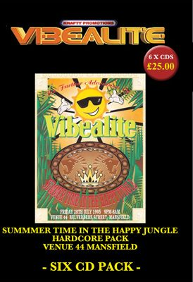 Summertime In The Happy Jungle Hardcore :: 6CD