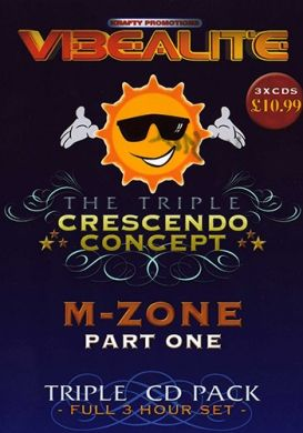 The Triple Crescendo Concept - M-Zone part 1 - 3CD