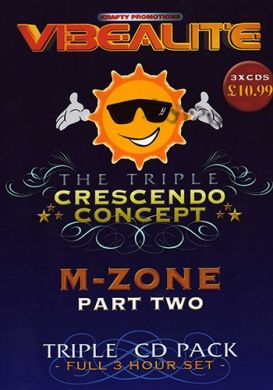 The Triple Crescendo Concept - M-Zone part 2 - 3CD