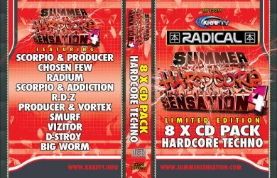 SUMMER SENSATION 4 - HARDCORE TECHNO PACK
