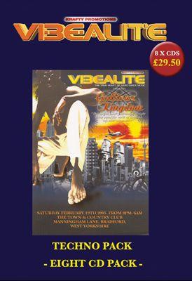 Vibealite Gullivers Kingdom Techno :: 8CD