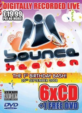 Bounce Heaven 08 :: 6CD + FREE DVD