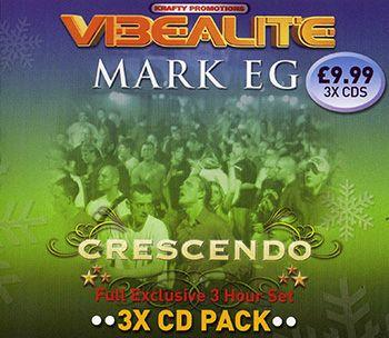 Vibealite Crescendo - Mark Eg - 3CD