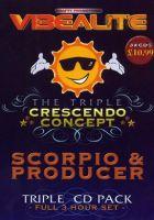 The Triple Crescendo Concept - Scorpio & Producer - 3CD
