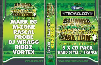 SUMMER SENSATION 4 - HARD STYLE / TRANCE PACK